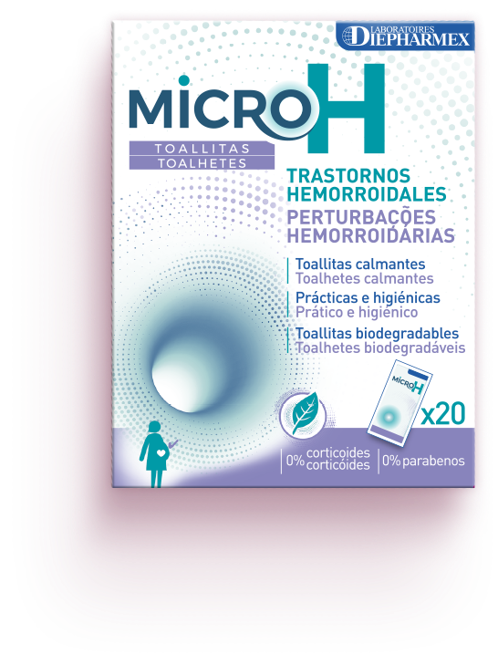 MicroH Lingettes packaging